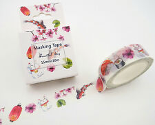 Japanese washi tape! Maneki neko, koi, sushi, cherry blossoms, & lanterns!