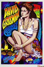 David Grisman Quintet 1997 Jul 9 Maritime Hall  Poster MHP# 33