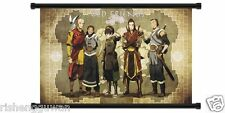 Home Decor Anime Avatar: Legend of Korra Cartoon Old Friends Fabric Wall Scroll