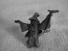 Pewter Wizard Pewter Mini Sorcerer Mystical Fantasy Medieval