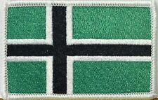 VINLAND FLAG Iron-On Patch TYPE O NEGATIVE VIKING Version Embroidered NORWAY