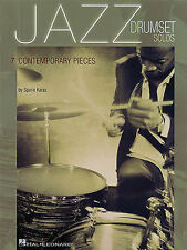 Jazz Drumset Solos 7 Contemporary Pieces Learn to Play Drums Music Book