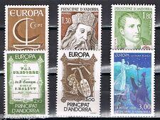 Europa CEPT Frans Andorra 1966-1980-1985-1997 cat waarde € 16,50
