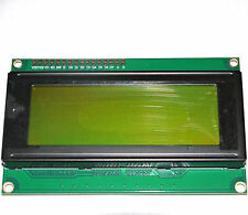 2004A J204A 20x4 20 text characters by 4 lines Yellow-Green LCD Module  Good