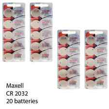 Maxell CR 2032 3 Volt Lithium Coin Cells (20 Batteries)
