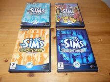 4 x The Sims - Expansion Packs -  for Windows