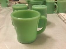 Fire King Jadeite Oven Ware Cup D Handle Made In The USA