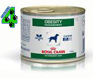 ROYAL CANIN 12 barattoli OBESITY 195 gr alimento umido per cani obesi cane obeso