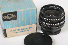 Exakta Mount Meyer Lydith 30mm f/3.5 lens with box