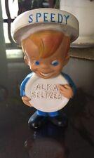 Speedy Alka Seltzer Bank Doll Vinyl