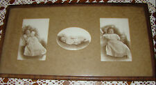 ANTIQUE CABINET CARD PHOTO PRECIOUS VICTORIAN BABY CHAIR WEBB'S COLUMBIA S. C.