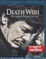 DEATH WISH action *BLU-RAY NEW 40th Anniversary CHARLES BRONSON Canadian Edition
