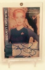 Star Trek Voyager: CTH Closer To Home Autograph A7 Jeri Ryan Seven of Nine