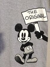 NEW DISNEY THE ORIGINAL FUNNY T-Shirt Top Tee MICKEY MOUSE Oswald Lucky Rabbit