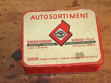 Leerer Verbandkasten Sander-Plast 50-60er Jahre Oldtimer Youngtimer  /i2
