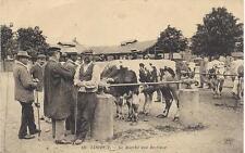 lisieux le marché aux bestiaux  calvados...14