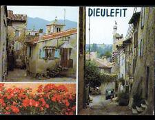 DIEULEFIT (26) RENAULT ESTAFETTE aux VILLAS animées en 1984