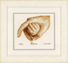 First Touch: Birth Record :  Vervaco Counted Cross Stitch Kit  PN0156519