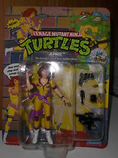 April O´Neil 1992 5.Anniversary NEW Unpunched NEU Turtles TMNT MOC Figur Figure