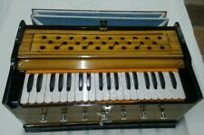 BRAND NEW HARMONIUM~BASS/MALE~DOUBLE REEDS~DOUBLE BELLOW 3 1/4 OCTAVE 7 STOPER