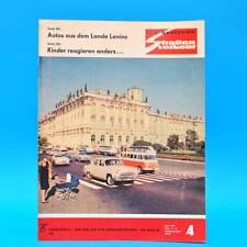 Der Deutsche Straßenverkehr 4/1970 DDR Saporoshez 966 A Moskwitsch 412 Jalta G