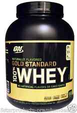 NEW OPTIMUM NUTRITION 100% WHEY GOLD STANDARD NATURALLY VANILLA 4.8 lbs 2.18kg