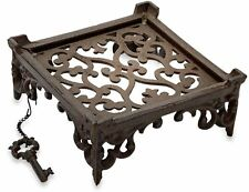 Cast Iron Napkin Holder Antique Metal Rustic Kitchen Decor, Napkins Table Stand