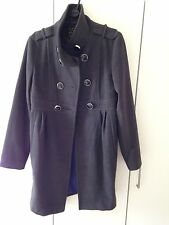 River Island Grey Coat Size 8