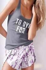 NWT Victoria's Secret The Mayfair Shorts Tank Pj Pajamas TO DYE FOR Tie Dye S