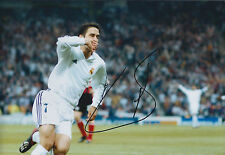 RAUL Raúl Signed Autograph 12x8 Photo AFTAL COA Real Madrid Champions League