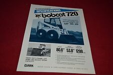 Bobcat 720 Skid Steer Dealer's Brochure DCPA6 Ver2