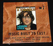 TRACKS #7 (2005 CD) MUSIC BUILT TO LAST - EDITOR'S PICKS TRACKS MAGAZINE NEW OOP