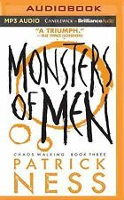 2DAY SHIPPING | Monsters of Men (Chaos Walking Series), MP3 CD, Patrick Ness