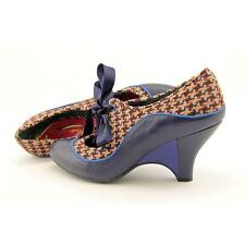 Poetic Licence Schools Out Women US 8.5 Blue Mary Janes Blemish  10136