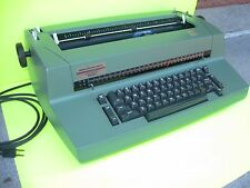 Vintage IBM Selectric II Correcting Typewriter Green Color RARE