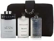Bvlgari Man Extreme Eau De Toilette Spray 100ml Set 4 Pieces,100ml EDT+75ml Afte