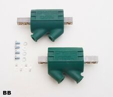 Dynatek DC1-1 Ignition Coils 3.0 ohms Angled Dual Output Green Sold In Pairs