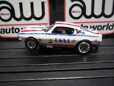 AUTO WORLD ~ '70 Chevy Camaro USA-1 Funny Car ~ In Jewel Case ~ FITS AFX, AW