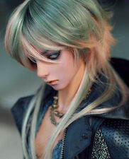"BJD Doll Hair Wig 7-8"" 1/4 SD DZ DOD LUTS Multi Color Long Straight"