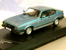 WHITEBOX DIECAST 1/43 1982 FORD CAPRI MK3 MKIII 2.8i INJECTION MET. BLUE RHD/UK