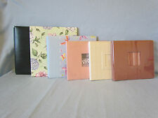 6 Lot-Scrapbook Album~8x11 Stampin Up!~9x9 Close to My Heart Butterfly~Three 8x8