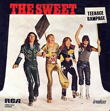 "7"" Sweet – Teenage Rampage / RCA-Center Hole - Intact Triangle // Dutch 1974"