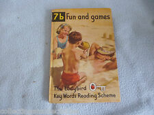 1966  Ladybird Book 7a Fun And Games  Key Words Reading Scheme