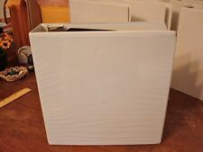 """Binder 2.5"""" D-ring White View Avery"""