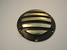 Harley Derby Cover Ribbed Brass  Sportster 2004 up