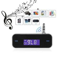 Wireless FM Radio Music Transmitter Car Player For Samsung Galaxy S3 S4 S5 S6 U1