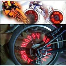 Bicycle Motorcycle Car Bike Tyre Tire Wheel Valve 7 LED Flash Spoke Light Lamp