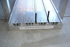 CNC Router Extruded Aluminum T-Slot Table surface 3' W x 4' L