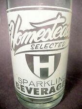 vintage ACL Soda Bottle: HOMESTEAD'S of SHARON, PA  - 32  oz VINTAGE ACL POP