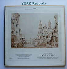 LPS 3234 - VERDI - Don Carlos RICCITELLI / LEMENI - Ex Con 4 LP Record Box Set